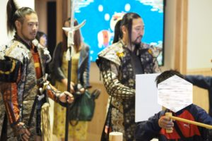 熊本城おもてなし武将隊が小倉城にきた